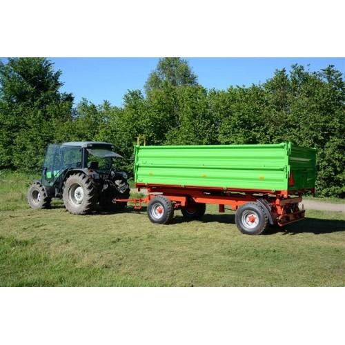 Traktoriaus priekaba PW6/1, 6 t.