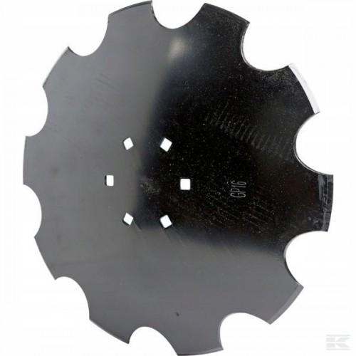 Lėkštė Dantuota 560mm 6sk