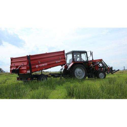 """Puspriekabė """"Metal-Fach"""", T703A - 3800 kg."""