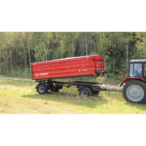 Priekaba METAL-FACH, T940/1 - 5000 kg.