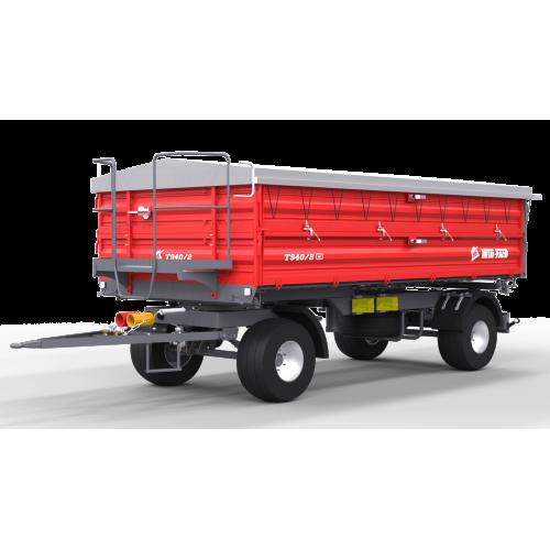 Priekaba METAL-FACH, T940/2 - 6000 kg.