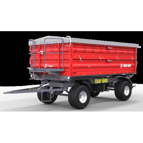 Priekaba METAL-FACH, T710/1 - 6000 kg.