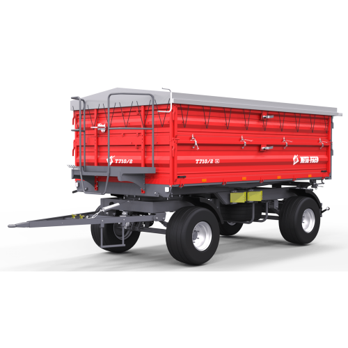 Priekaba METAL-FACH, T710/2 - 8000 kg.